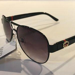 Genuine G.G. aviator sunglasses new with tags